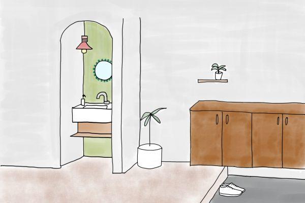 玄関の手洗いで考えたいこと